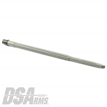 "DSA AR15 18"" HBAR Profile 1:7 Twist Straight Fluted Stripped Stainless Steel Barrel"