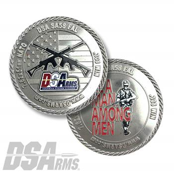 DS Arms FAL Challenge Coin