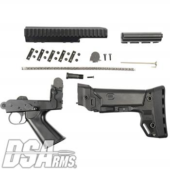 DSA FAL SA58 PARA Conversion Kit - Includes B.R.S. PARA Stock, Complete Internals, Lower Trigger Frame, PARA Carrier, Standard PARA Scope Mount  Sprin