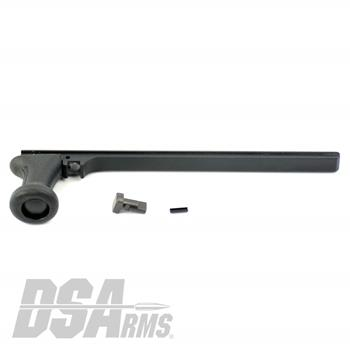 DSA FAL SA58 Extended Contour Alloy Metric Cocking Handle Assembly - Includes Handle, Lug and Pin