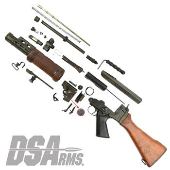 Israeli Light Barrel Pattern Complete FAL Parts Kit - Used, Good Condition