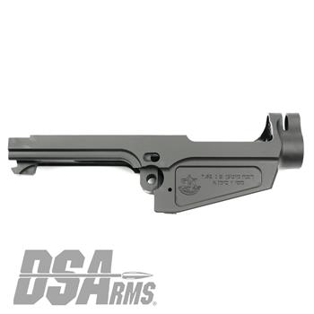 DSA SA58 Israeli Marked Stripped Semi Auto FAL Receiver - Type 1 Carry Handle Cut