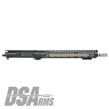 "DS Arms WarZ Series 16"" AR15 5.56x45mm Ti - V1 Upper Receiver Assembly"