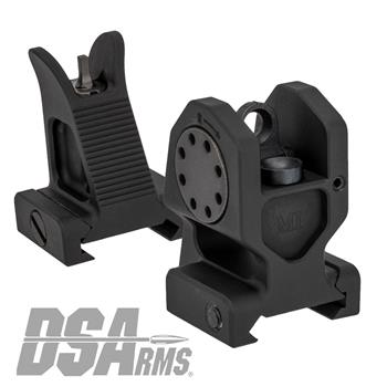 Midwest Industries Combat Rifle Fixed Sight Set - Front & Rear