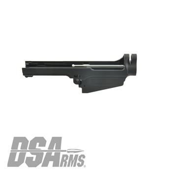 DSA SA58 Stripped Semi Auto FAL Receiver - Aussie Cut L1A1 - Type 1 Carry Handle Cut
