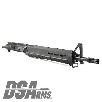 "DSA ZM4 AR15 Barreled Upper Receiver - 16.25"" HBAR Barrel - Rifle Length Gas System - 1:7 Twist - Forged Front Sight Tower - Magpul Handguards"