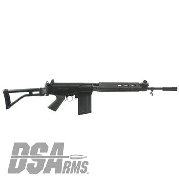 "DSA SA58 FAL 18"" Bush Warrior Carbine - Traditional Profile Barrel, PARA Stock Carbine"