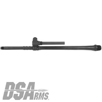 "DSA FAL SA58 18"" Chrome Lined Traditional FAL Profile Barrel Assembly With Gas Block Installed"