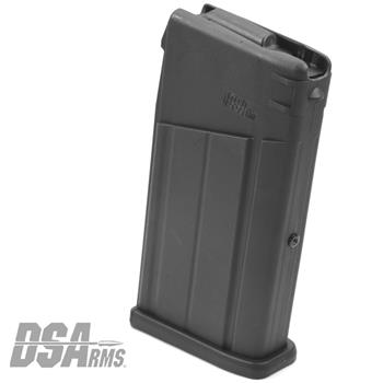 DS Arms FAL SA58 Metric Pattern Polymer Magazine - 10 Round - Black