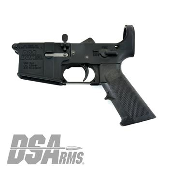 DSA AR15 ZM4 Lower Receiver - Complete Internals - No Stock Assembly